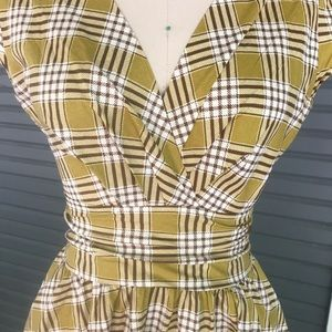 retrolicious Dresses - Vintage style plaid dress!